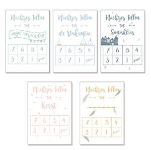 aftelkalender Praatplaatje